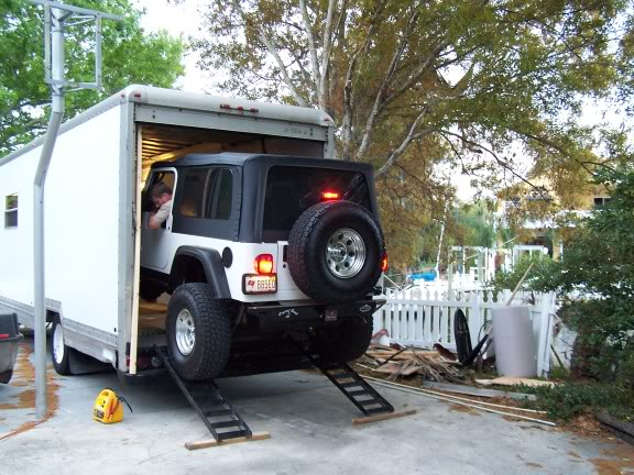 Po Mans Toy Hauler loading Jeep Crawler | Build Thread Archive