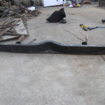 1940 Chevrolet Expedition Trailer heavy duty bumper removed