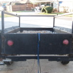 1940 Chevrolet Expedition Trailer original lights and reflectors