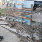 1940 Chevrolet Expedition Trailer rotted floorboards removed