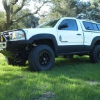Kifaru Toyota Tacoma single cab expedition build