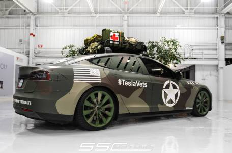 Special Veterans Day Tesla Model S