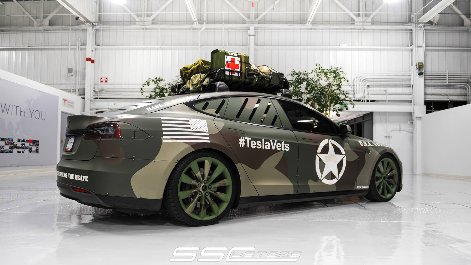 Tesla Model S Bug Out Vehicle Build Thread Archive